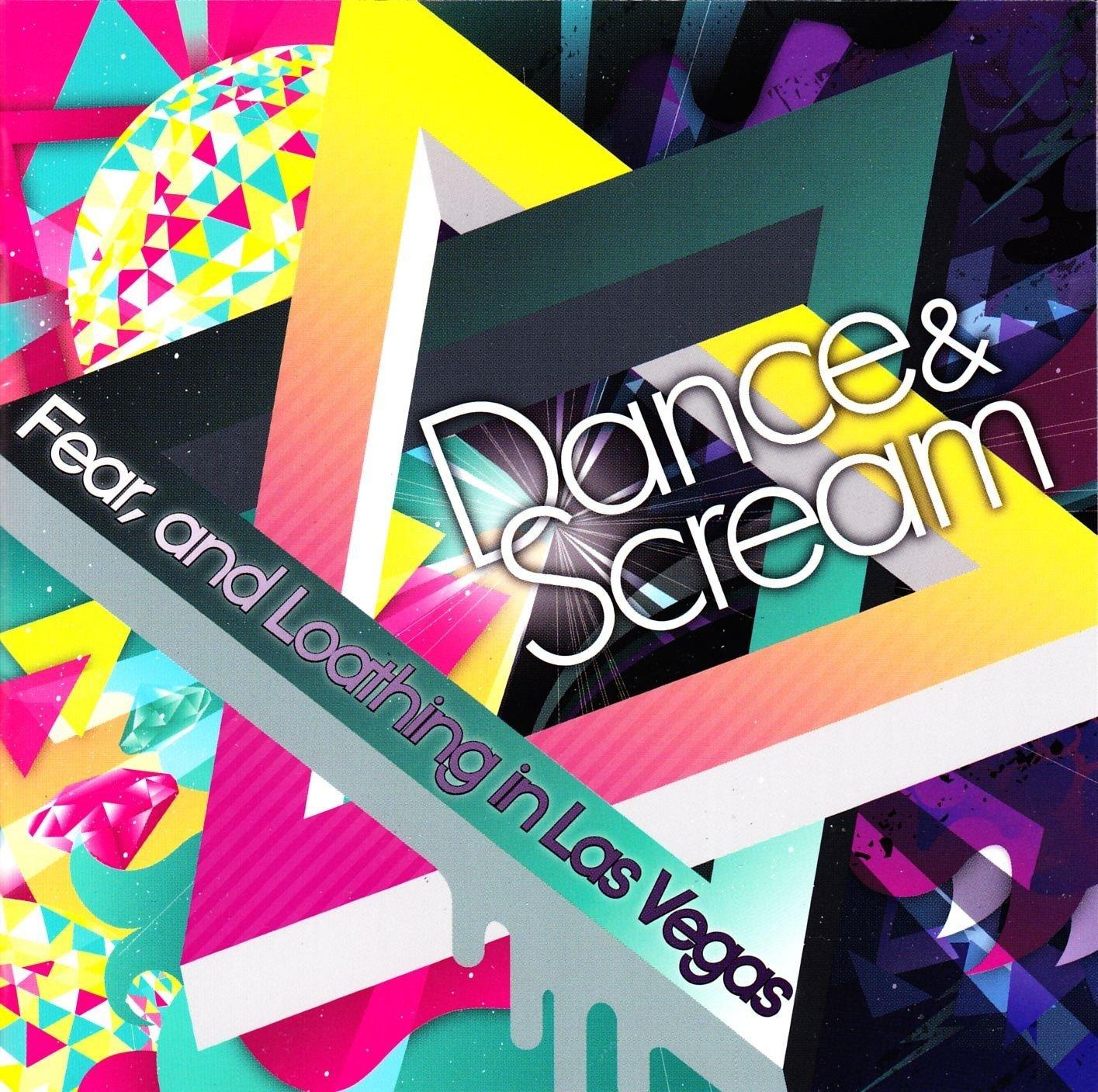 Cover album 'DANCE & SCREAM'/Jpopsuki©